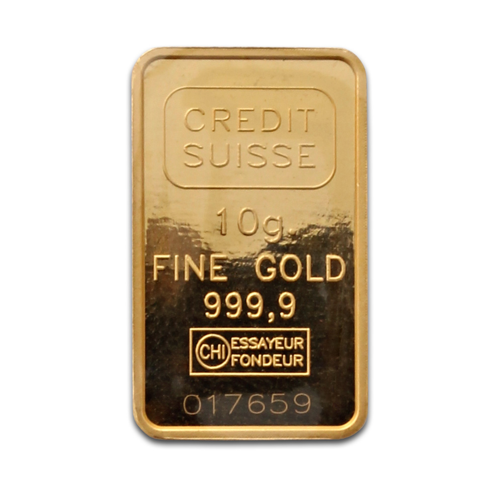 Credit Suisse 10 Gram Gold Bars Buy Credit Suisse Gold