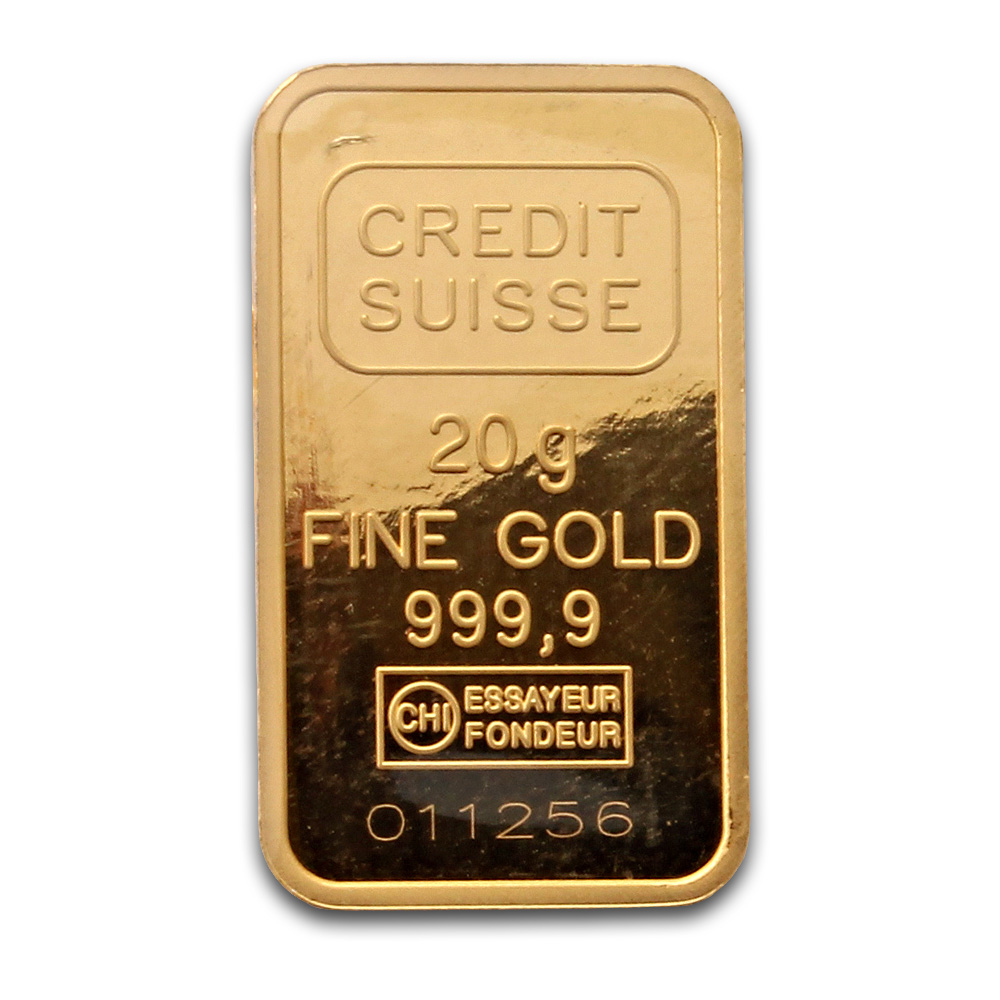 Credit Suisse 20 Gram Gold Bar Buy Credit Suisse Gold