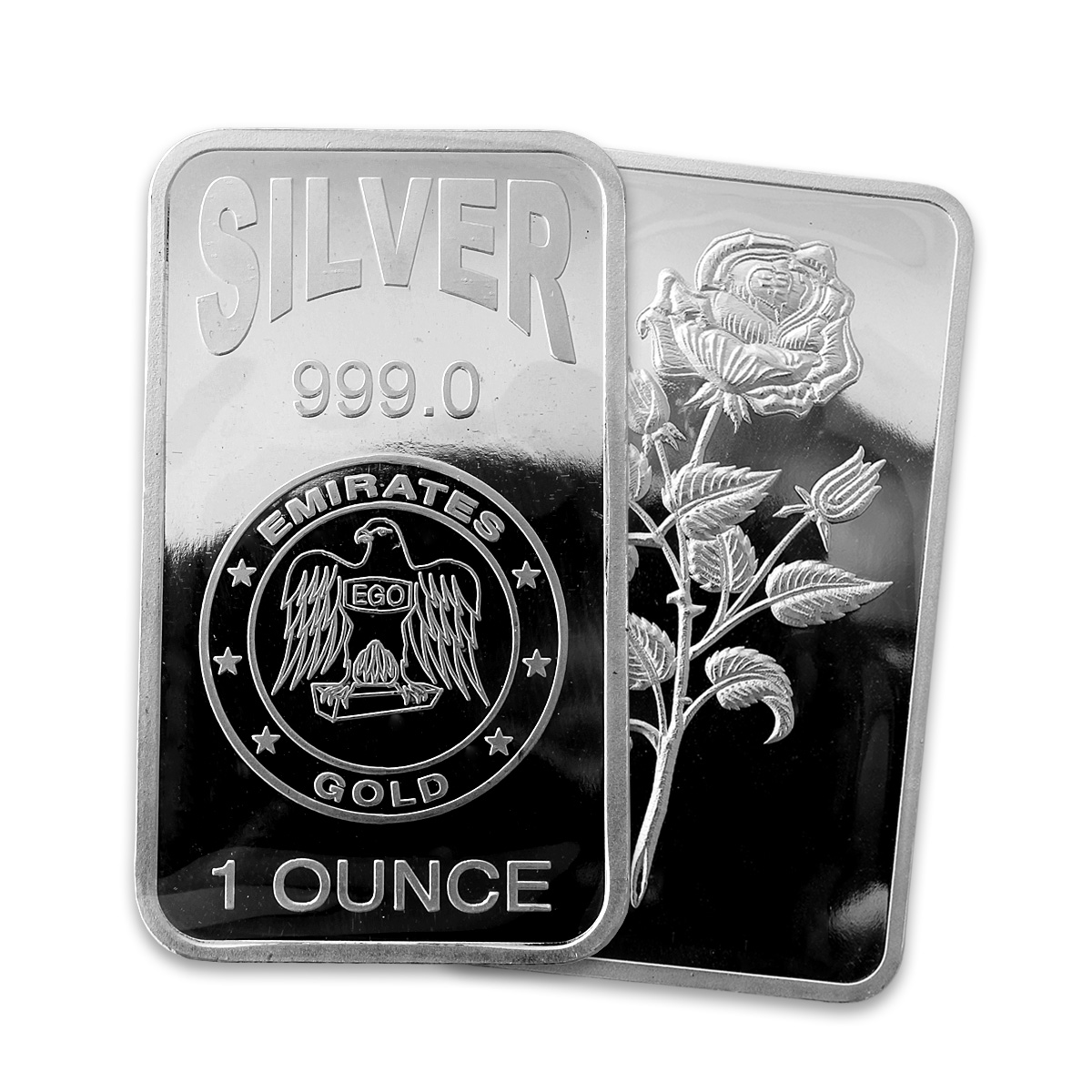 Emirates 1oz Silver Bar Emirates Silver Bullion Gold