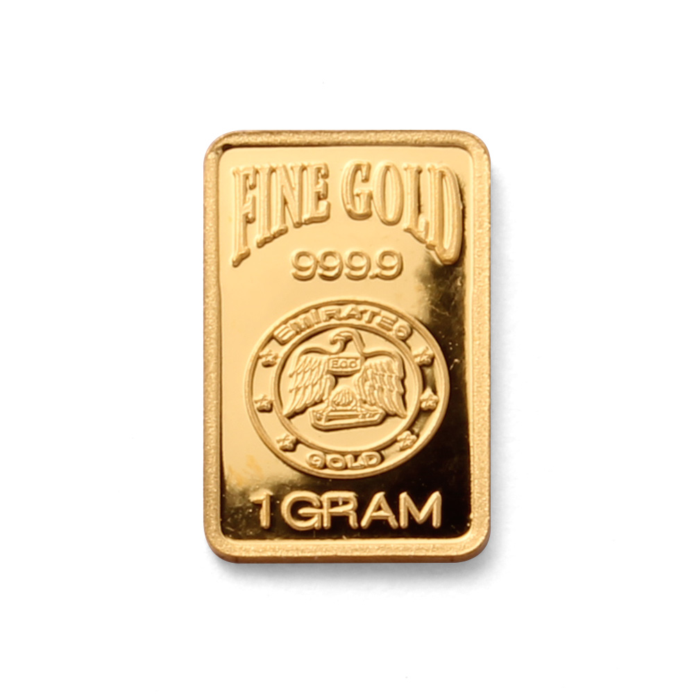 Emirates Gold 1 Gram Blister Pack 1 Gram Gold Bar