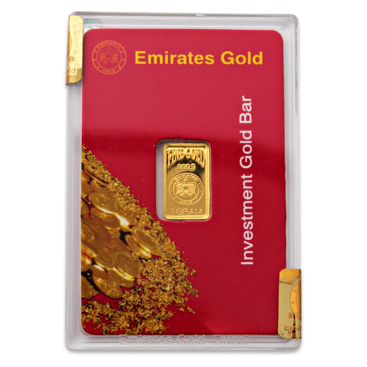 Emirates Gold 1 Gram Gold Bar 24 Carat Emirates Gold