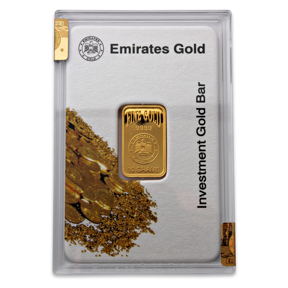 Emirates Gold 10 Gram Gold Bar Emirates Gold Bullion