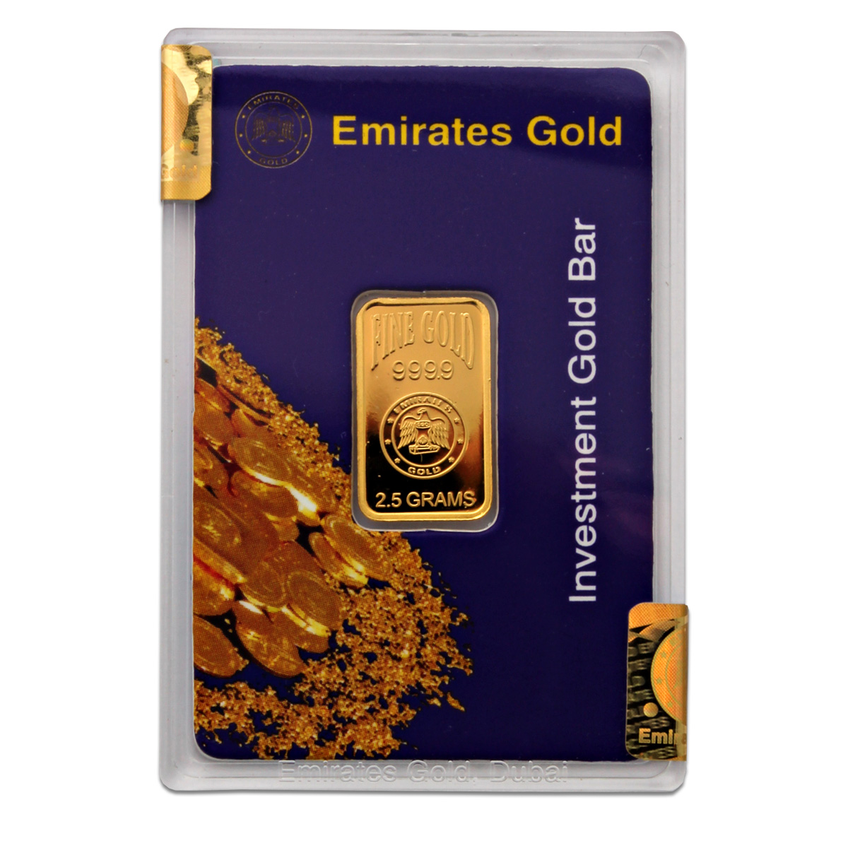 2.5g Gold Bar - Emirates Gold Boxed Certified