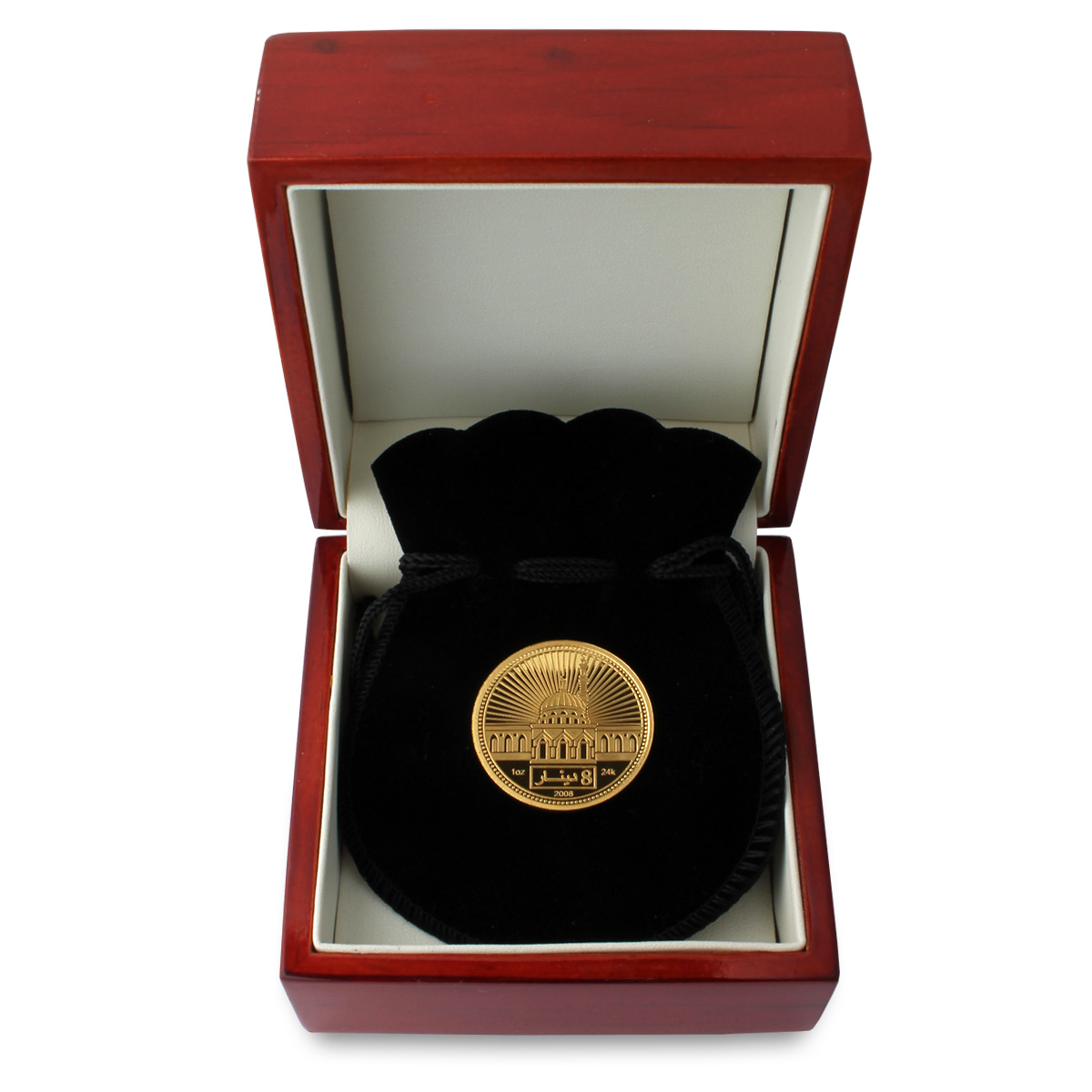 Gift Box Gold : Oz gold dinar islamic coin gift box gifts
