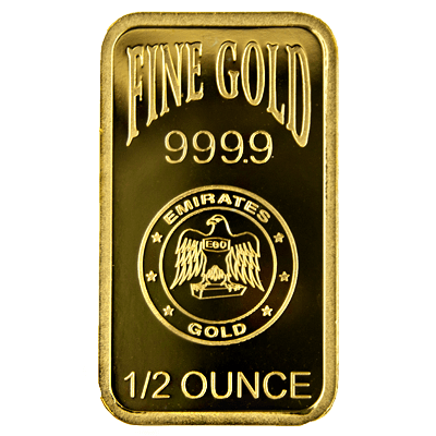 1/2oz Gold Bar - Emirates Gold Blister Pack