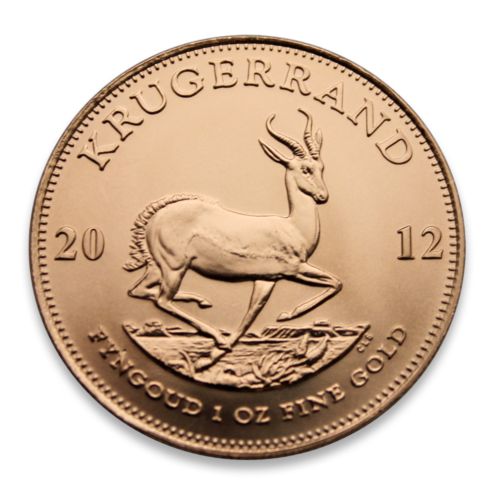 1oz Gold Krugerrand (Mixed Year)