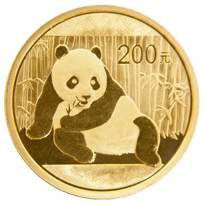 1/2 oz Chinese Panda Gold Coin Mixed Year
