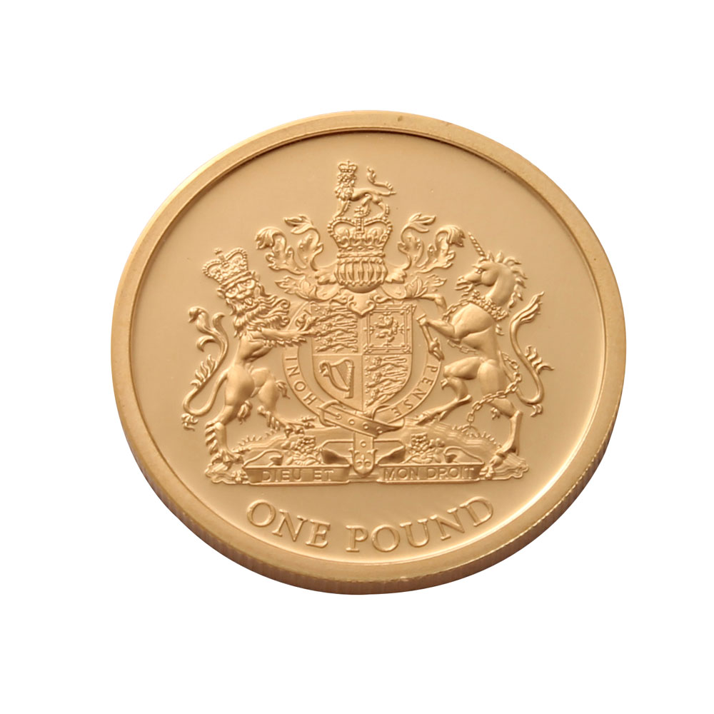 2012 £1 Jersey Diamond Jubilee Gold Coin