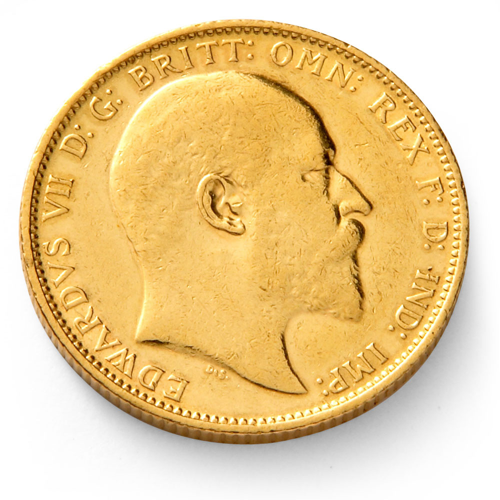 King Edward Vii Gold Sovereign Coin Gold Bullion Co
