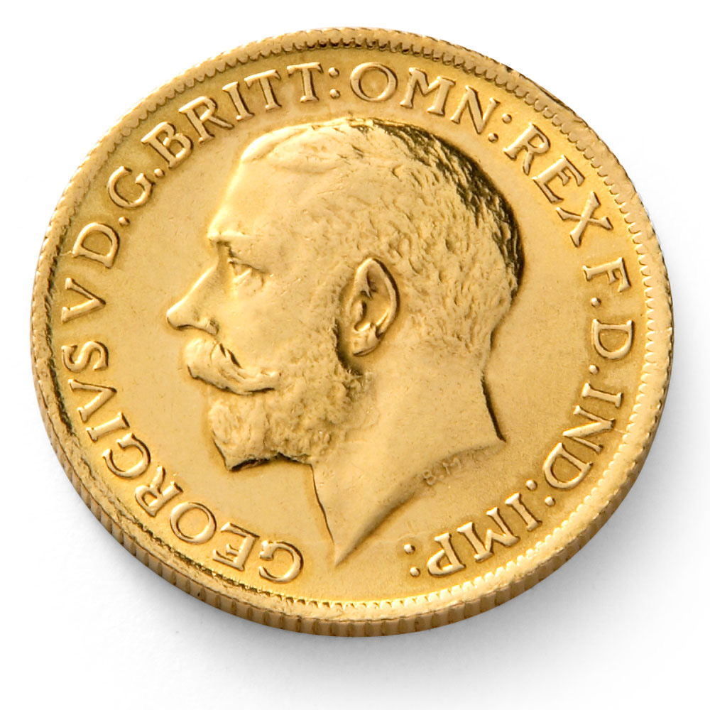 George V Gold Sovereign Coin 1911 1932 Sovereign Coin