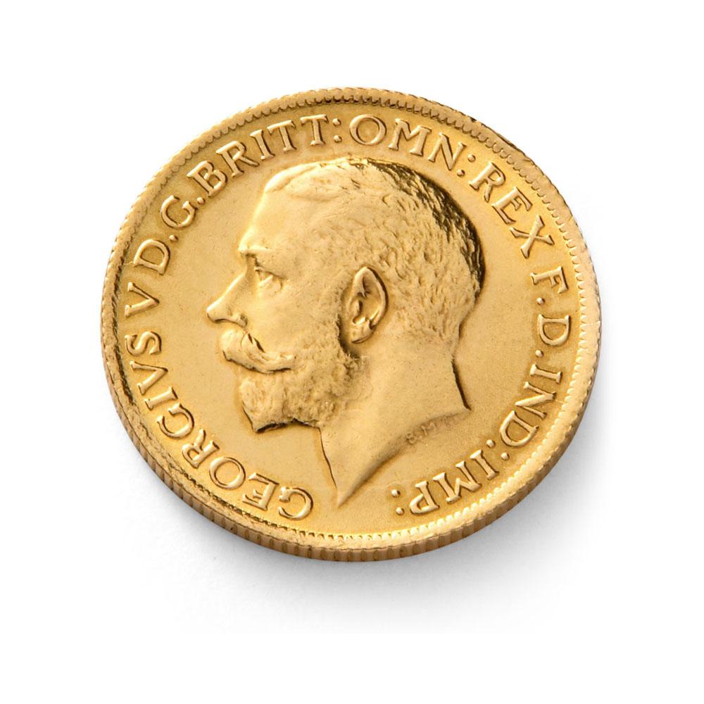 King George V Half Sovereign Buy Gold Half Sovereign Coins Gold Bullion Co