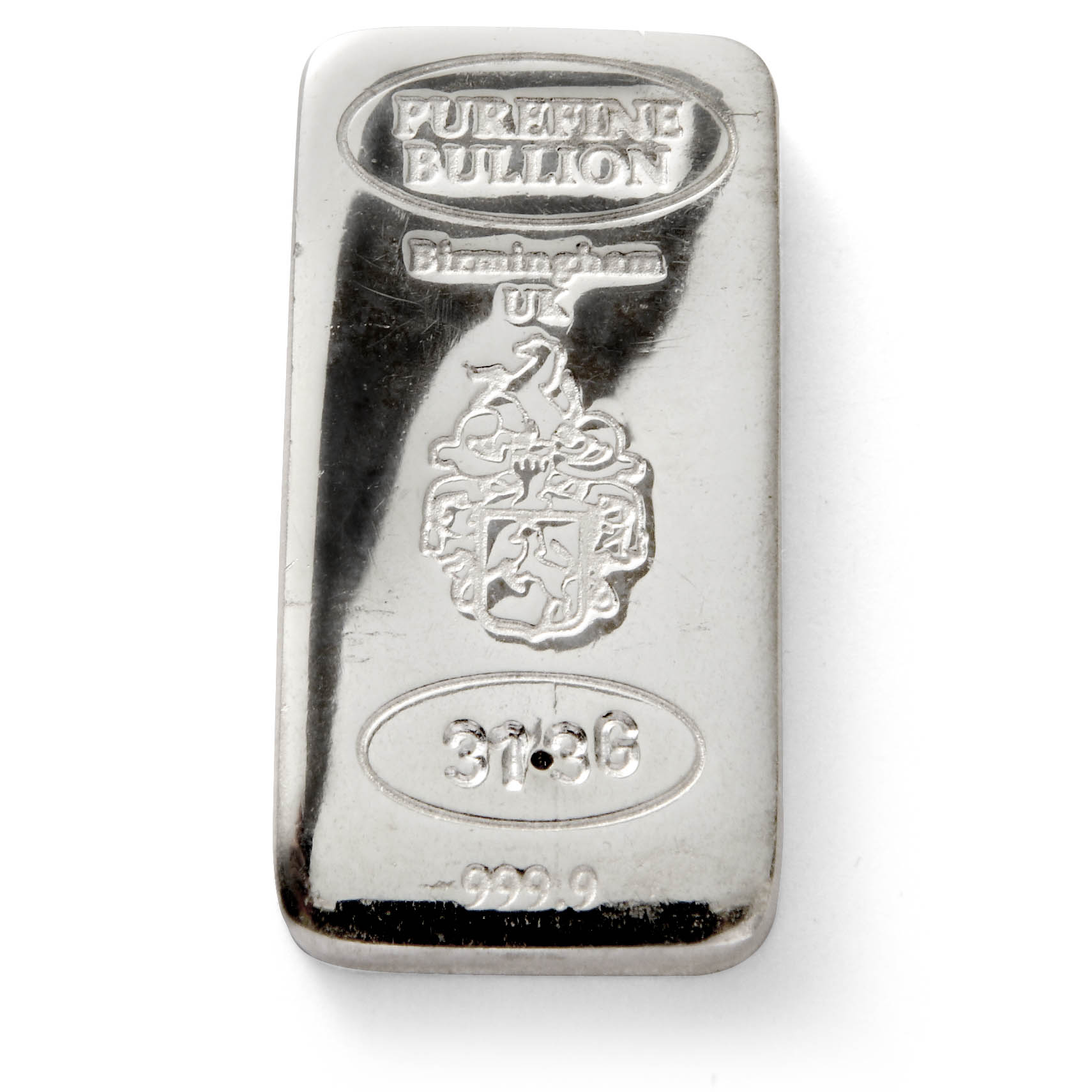 1 Oz Silver Bar Free Next Day Delivery Gold Bullion Co