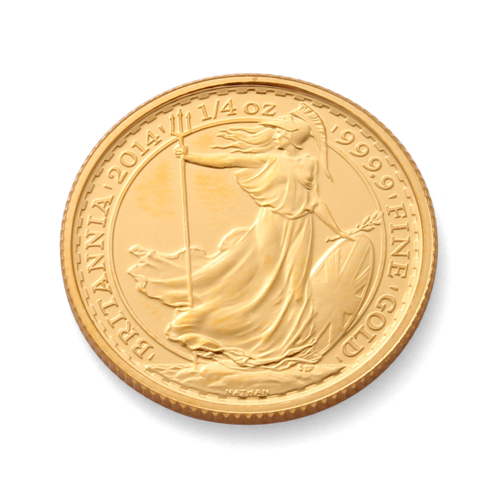 Quarter Gold Britannia Coin 1 4 Oz Gold Coin