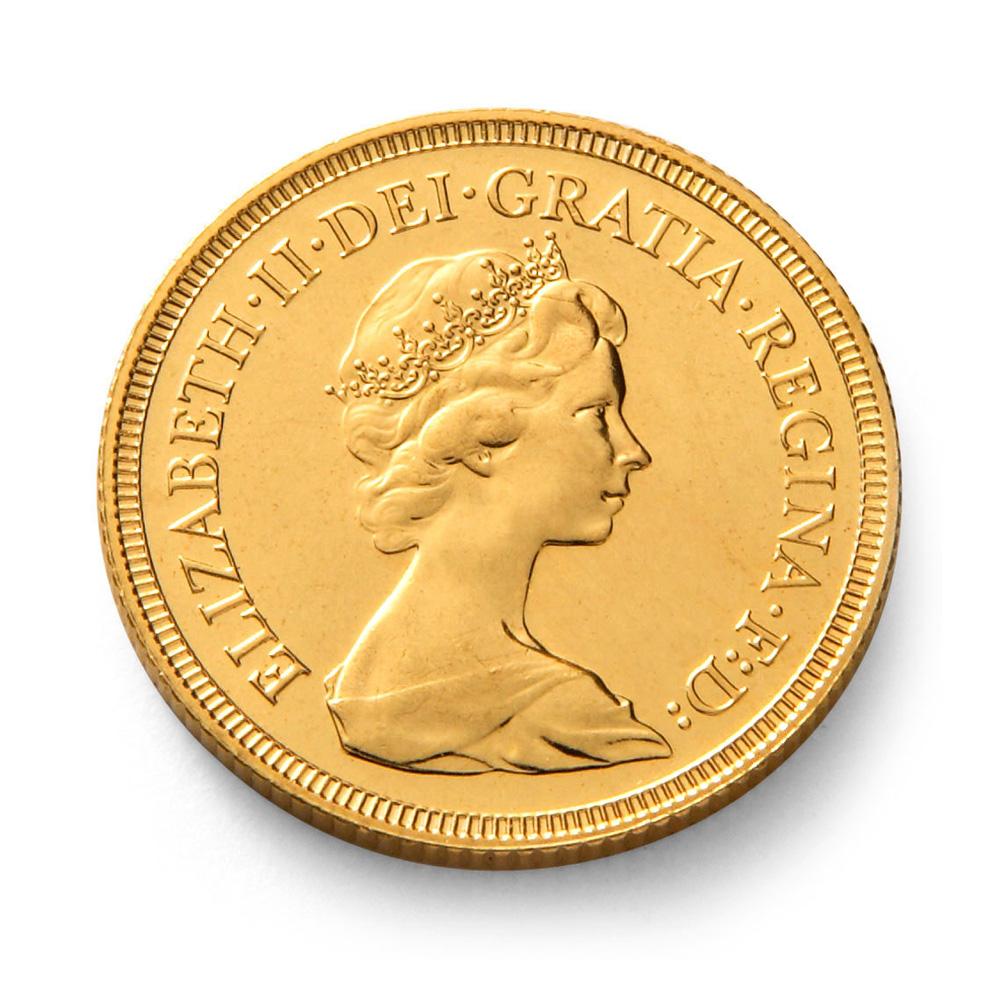 Queen Elizabeth Ii Gold Half Sovereign Coin Gold Bullion Co