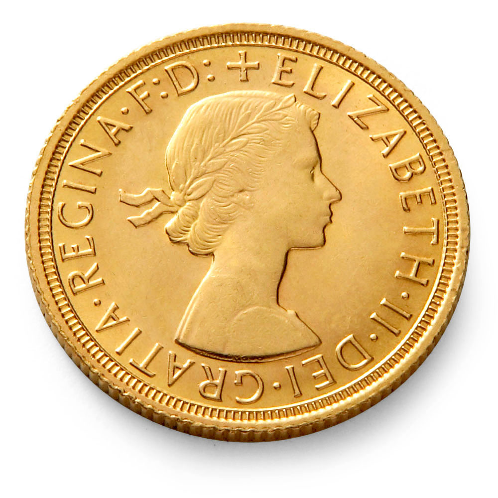Royal Mint Queen Elizabeth Ii Gold Sovereign Coin Gold