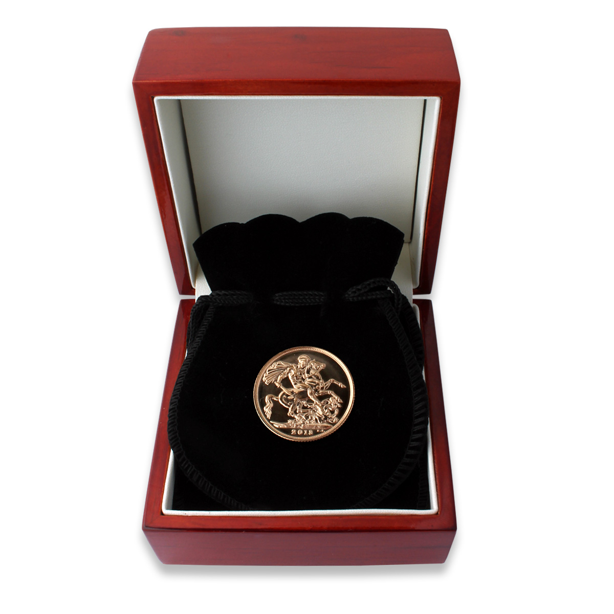 Royal Mint 2013 Sovereign with Gift Box