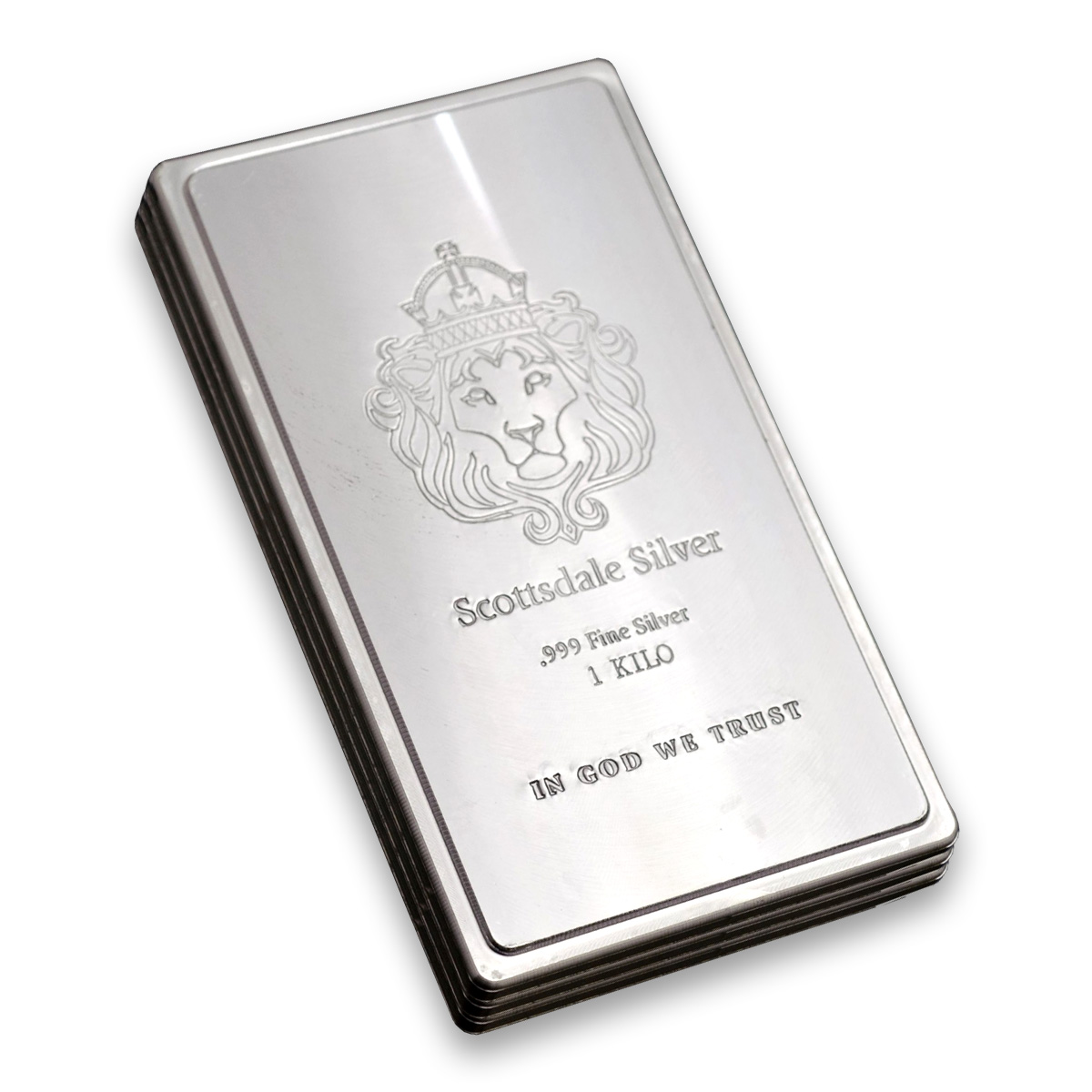 Scottsdale 1kg Silver Bar 1000 Gram Silver Bullion