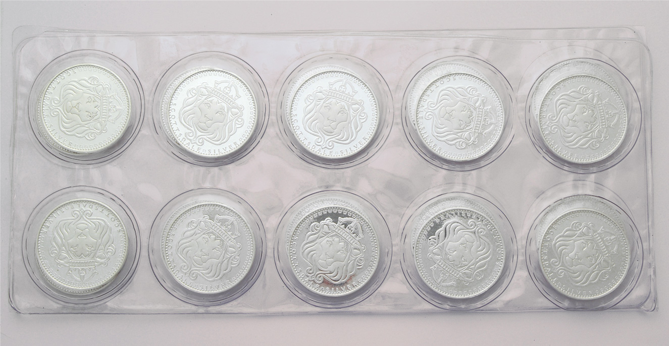 Scottsdale 1 ounce Silver Round (10 Pack)