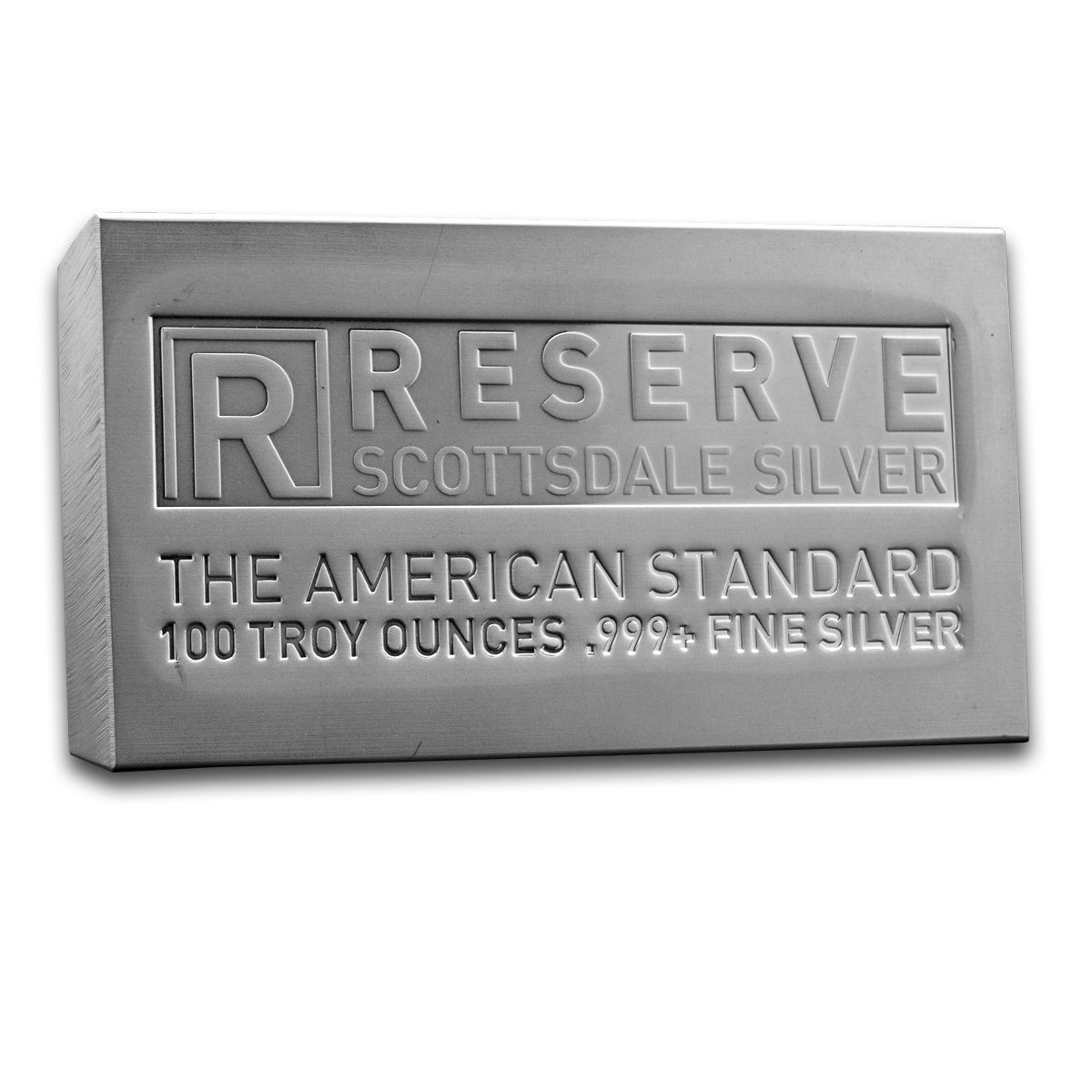 Scottsdale 100oz Silver Bar Gold Bullion Co