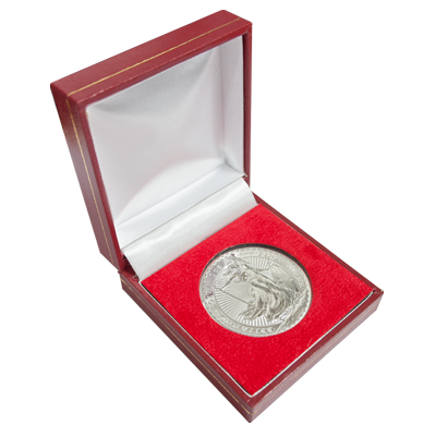 2017 Silver Britannia with Luxury Presentation Box