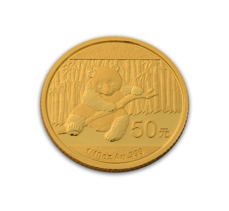 2014 Chinese Panda 1 10th Ounce Gold Coin Panda Gold Coins