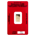 1g Gold Bar - Emirates Gold Certified