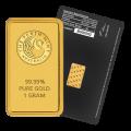 Emirates Gold 1 Gram Gold Bar 24 Carat Gold Bullion
