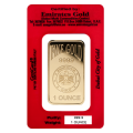 1oz Gold Bar - Emirates Gold Certicard