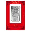 PAMP 1 Ounce Lunar Dragon Silver Bar