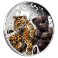 Perth Mint 1/2 Ounce Jaguar Cubs Silver Proof Coin