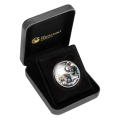 Perth Mint 1/2 Ounce Snow Leopard Cubs Silver Proof Coin