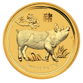 2019 Lunar Pig 1oz Gold Coin - Perth Mint