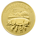 2019 Lunar 1oz ' Year of the Pig' Gold Coin