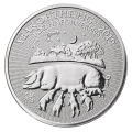 2019 Lunar 1oz ' Year of the Pig' Silver Coin (Royal Mint)
