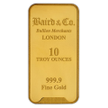 Baird & Co 10 Ounce Minted Gold Bar