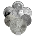 CLEARANCE - 15 x 1oz Silver Coin Bundle
