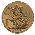 2011 Gold Full Sovereign Coin | The Royal Mint