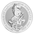 2021 10oz White Horse of Hanover Silver Coin | Queen's Beasts Collection