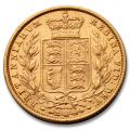 1871 Shield Back Gold Sovereign