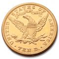 Extra Fine 1881 US $10 Gold Coin