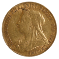 1901 King Edward VII Gold Sovereign Perth