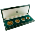 Gold Proof Sovereign Four Coin Set