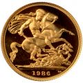 1986 Gold Proof Sovereign
