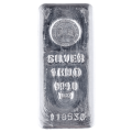 Emirates 1 Kilogram Silver Cast Bar