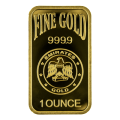 1oz Gold Bar - Emirates Gold Blister Pack
