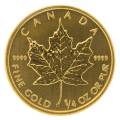1/4 Ounce Gold Maple Leaf