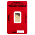 2.5g Gold Bar - Emirates Gold Certified