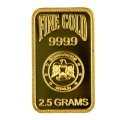 Emirates Gold 2.5 gram blister pack gold bar