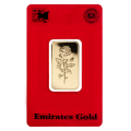 20g Gold Bar - Emirates Gold Certicard