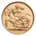 2017 Gold Sovereign with Luxury Presentation Box